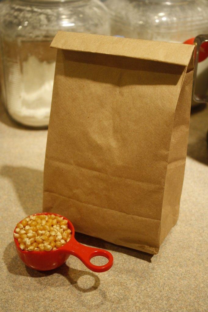 Popcorn Al Microonde Fatti In Casa Con La Busta Del Pane